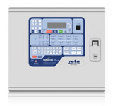 Simplicity addressable fire alarm panel in metal enclosure